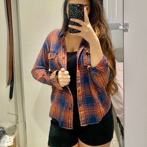Tops - 6/$20!!! Stripped Flannel